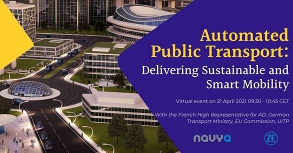 Automated public transportation: Delivering smart and sustainable mobility